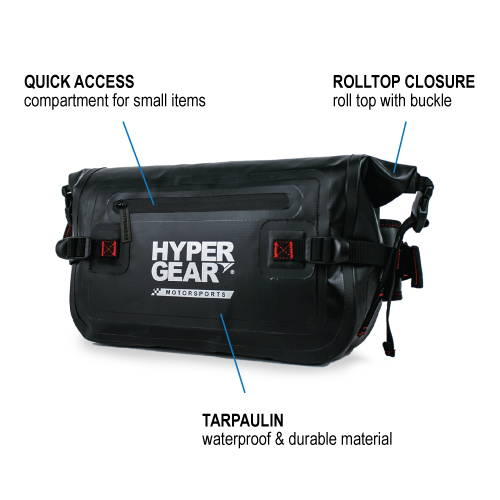 HYPERGEAR V2 Large Waist Pouch, camping, hiking, outdoor activities, adventure