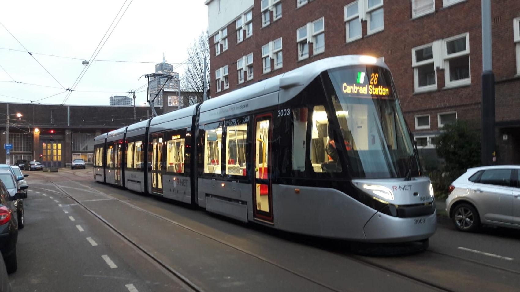 Foto van 15G in de straten van Amsterdam