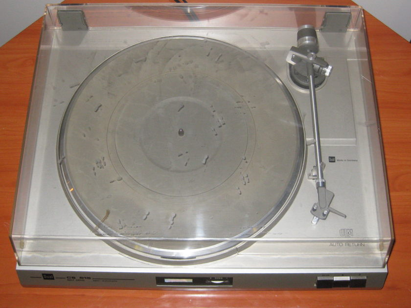 Dual CS-515 Turntable.