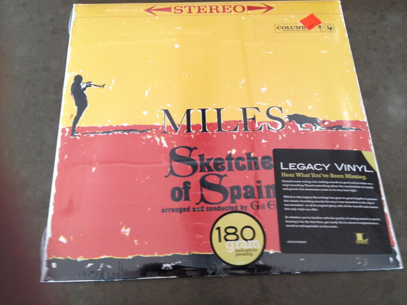 Miles Davis - Sketches of Spain Legacy 180 gram SEALED