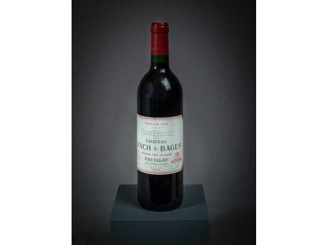 One Bottle of 1989 Château Lynch Bages, Pauillac, Grand Vin, Grand Cru Classé