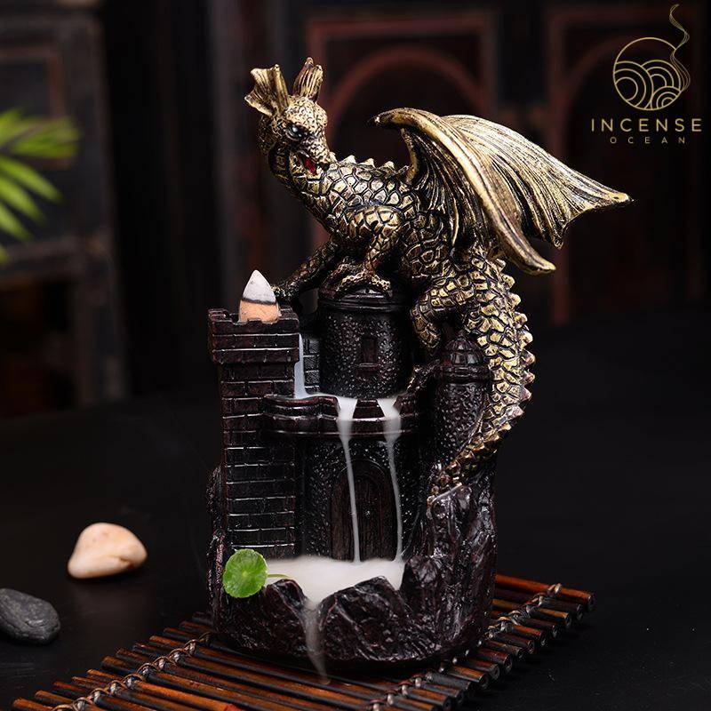 fly dragon incense burner