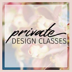 private floral design classes