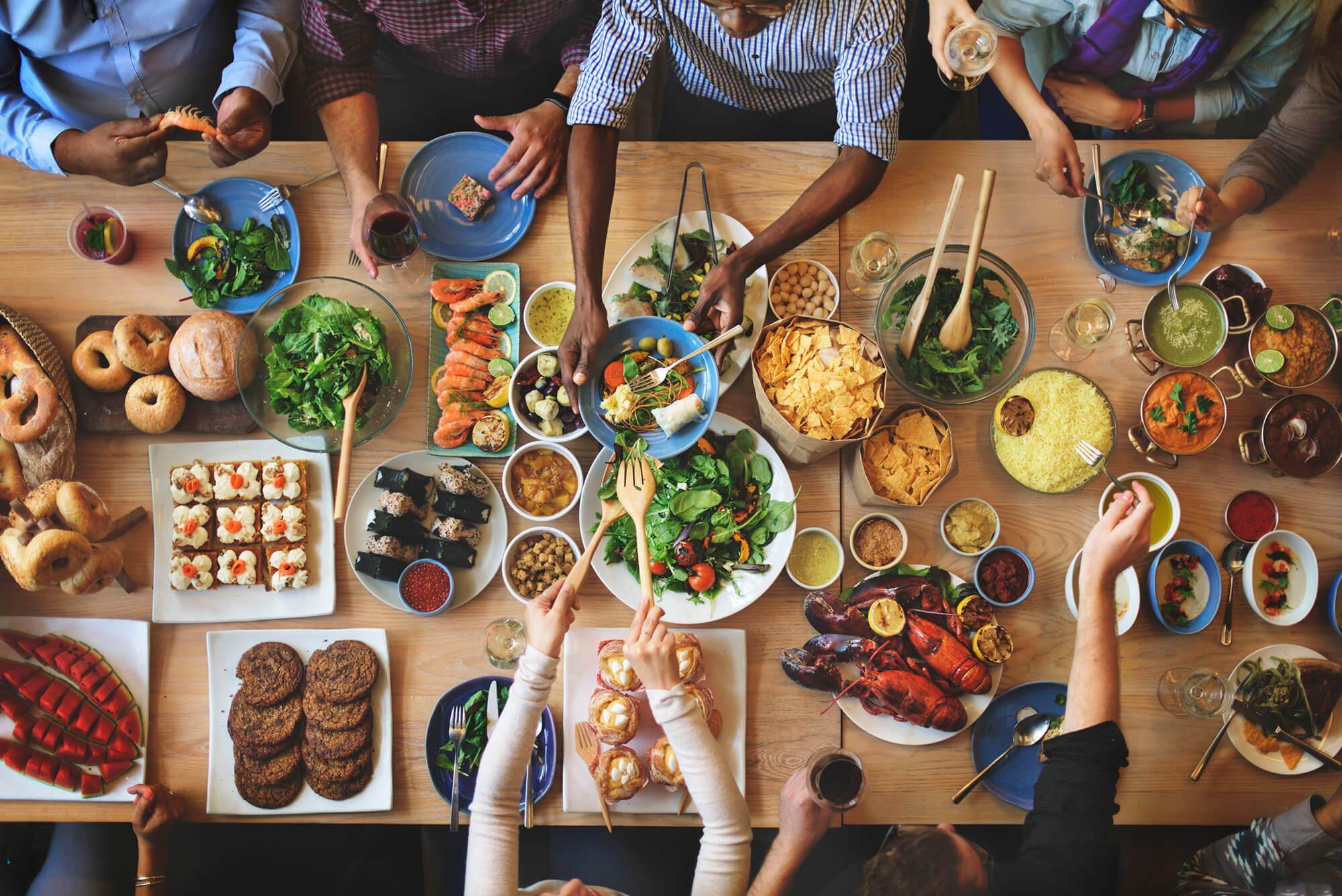 Food Fest, Overindulgence and Sleep