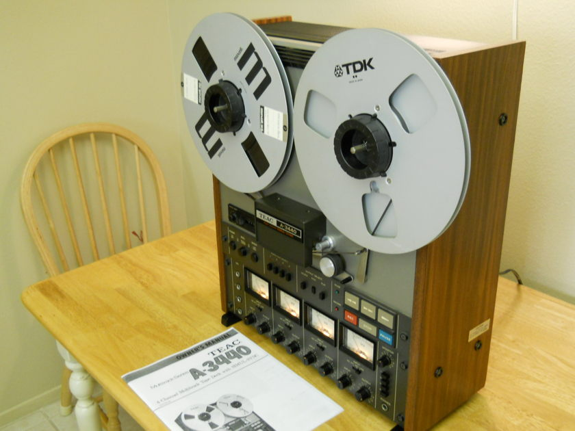 Teac  A3440 Pro reel to reel