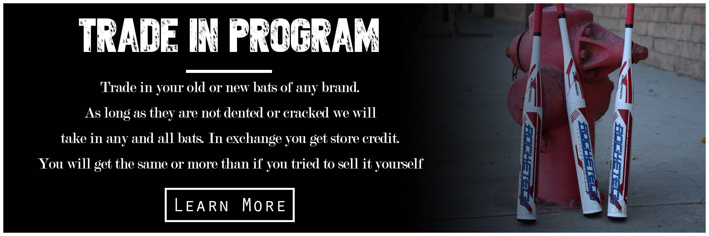 anderson bat trade in program