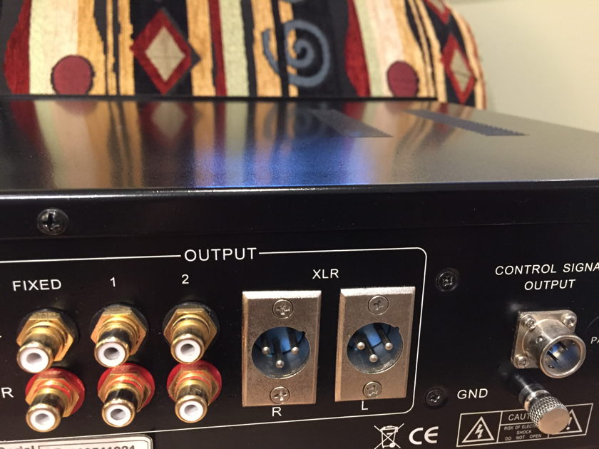 Jolida Fusion  Preamplifier with Home Theater Bypass- Upgraded & Remote