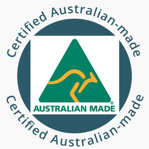 Certified Australian-made   We make them with love and care in Mandurah, WA - so that you know that it will be made with the correct weight that gives the best calming effect for your dog.