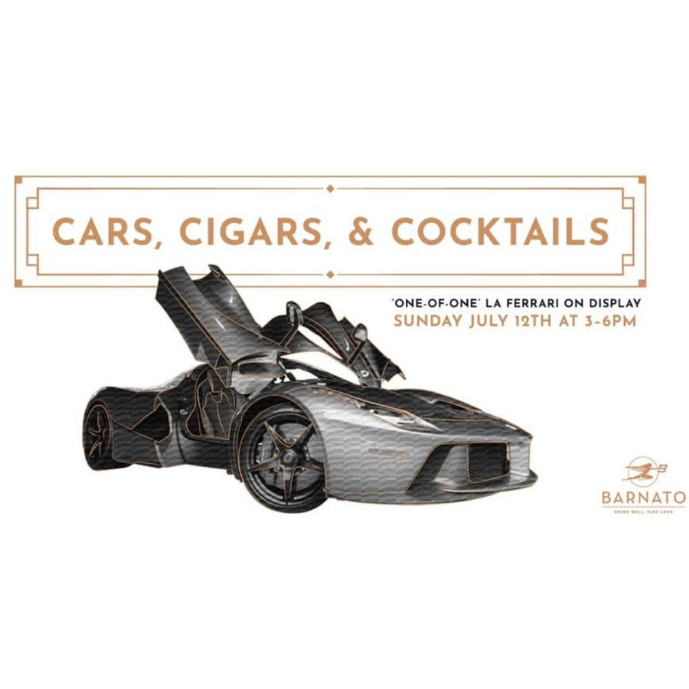 Picture of Join us for our first outdoor Bentley/Barnato: Cars, Cigars, & Cocktails! Sunday July 12th 3-6pm...exotic car show by Bentley Omaha