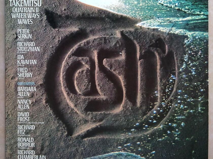 RCA/Tashi Quartet/Takemitsu - Quatrain II, Water Ways, Waves / NM