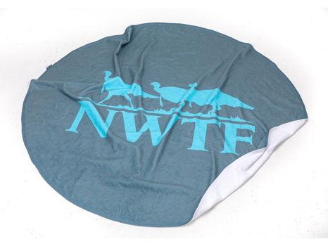 NWTF Round Beach Towel