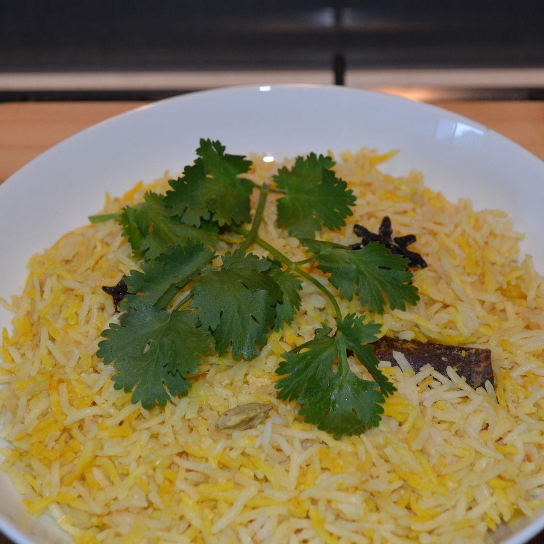 Date: 21 Jan 2020 (Tue) 64th Main: Nasi Minyak (The Wedding Rice/Scented Rice/Oily Rice) [190] [138.7%] [Score: 8.0] Cuisine: Indonesian, Malay, Malaysian, Singaporean Dish Type: Main