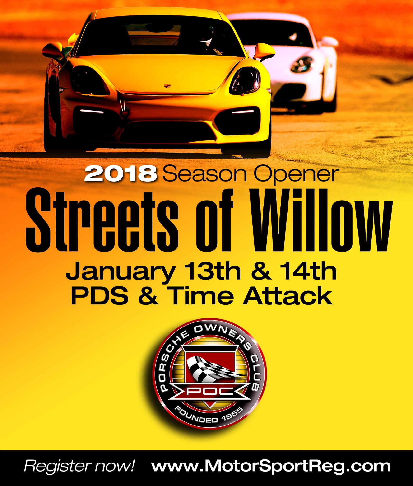 POC Streets of Willow Jan 13 14 2018 info on Jan 13 2018