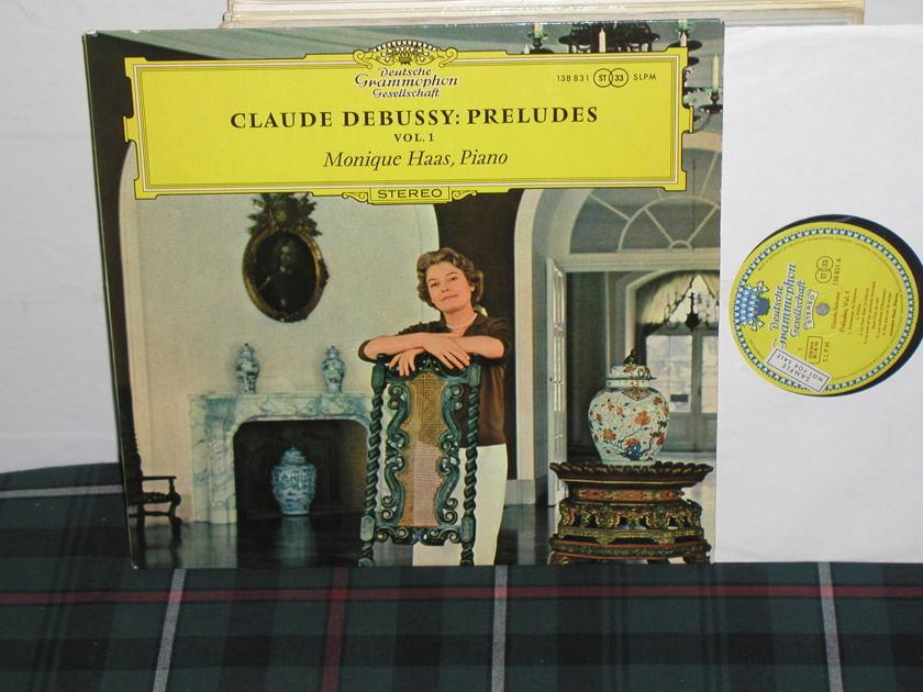 Monique Haas - Debussy: Preludes DGG  TULIP German import '60's