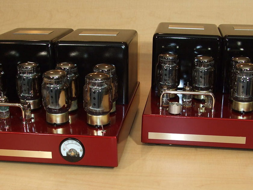 BOB CARVER Crimson 350  350 watt tube amps-10yr warranty-In stock now