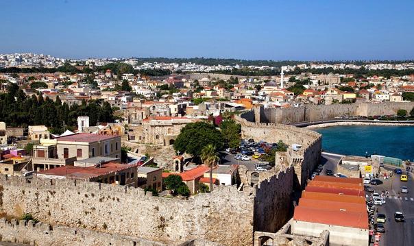 Родос — летопись одного города (с посещением Дворца Магистров)