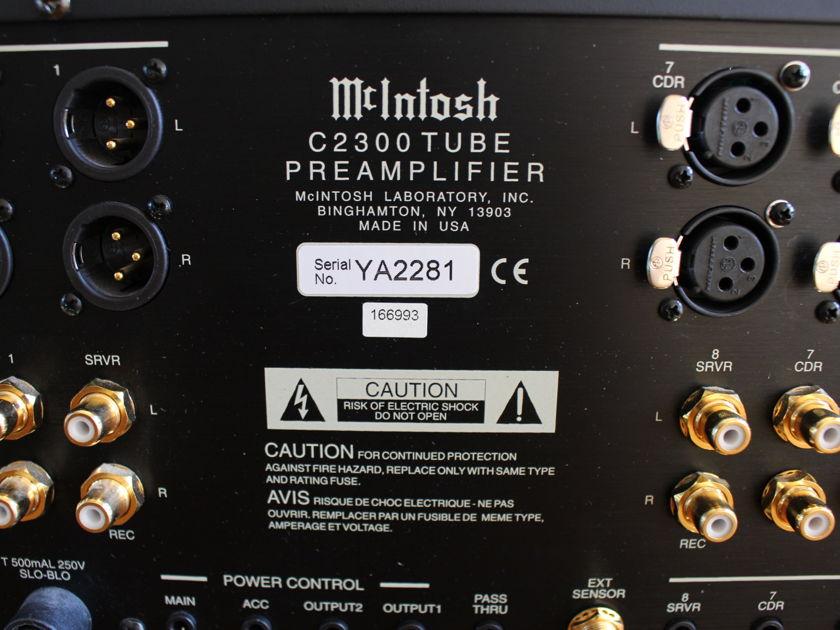 McIntosh C2300 Excellent Condition