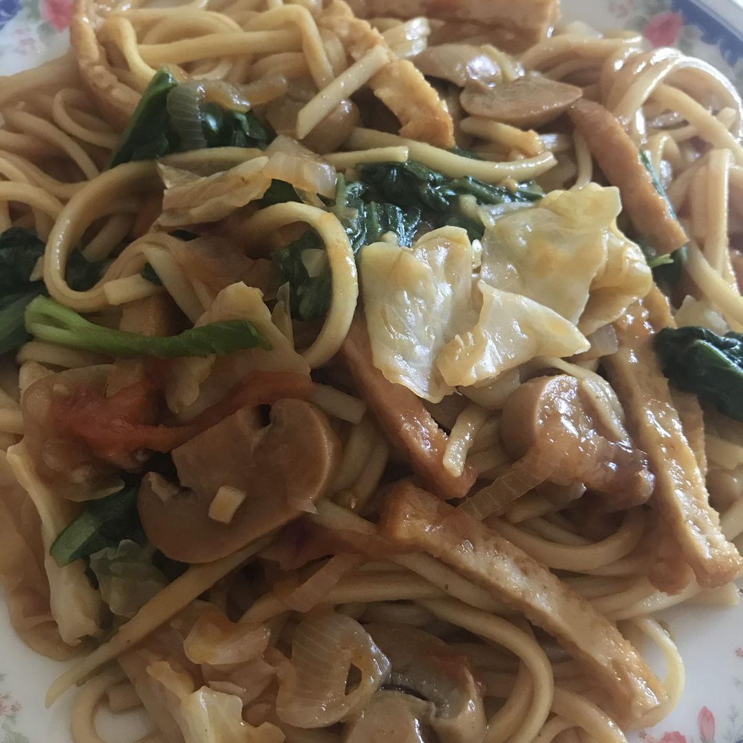 Braised longevity noodles 🍝 😃👍🏻