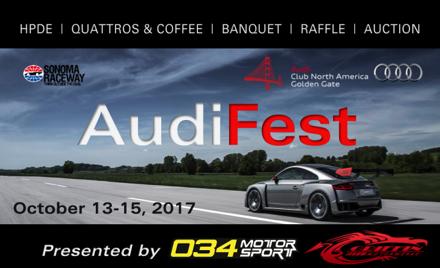 AudiFest 2017 - CANCELLED
