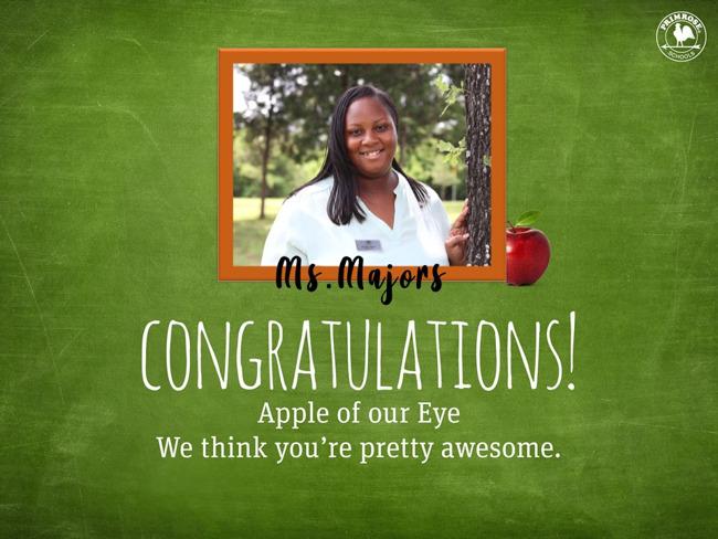 Majors Apple of the Eye