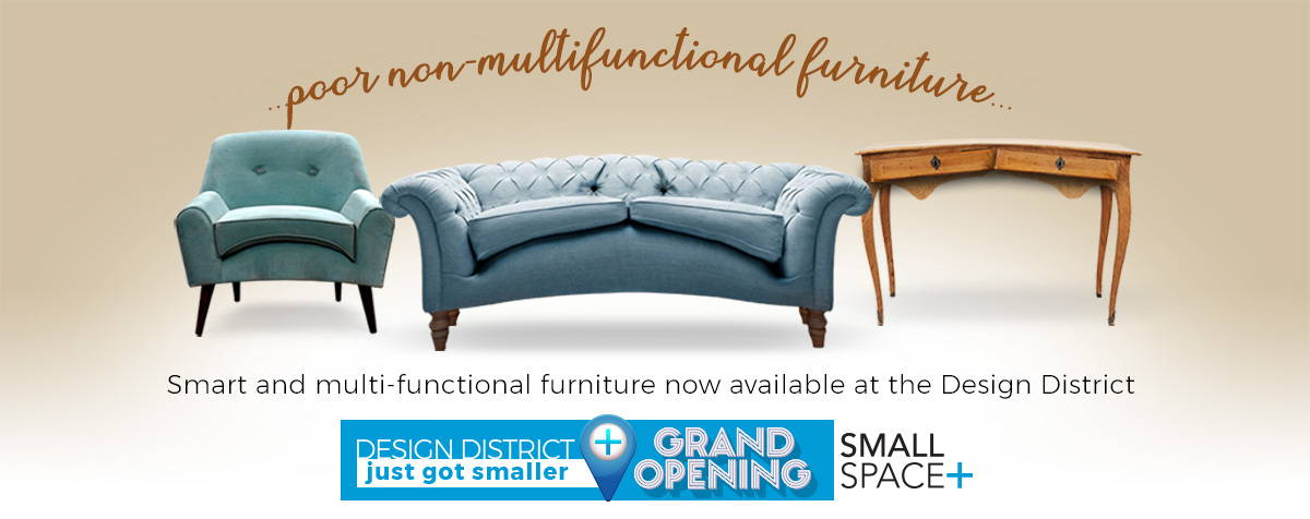 Grand Opening Deals - Small Space Plus Store - Design District - Toronto