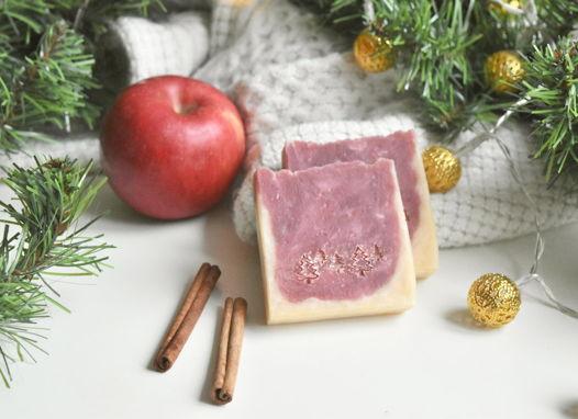 «Пряное яблоко» натуральное мыло