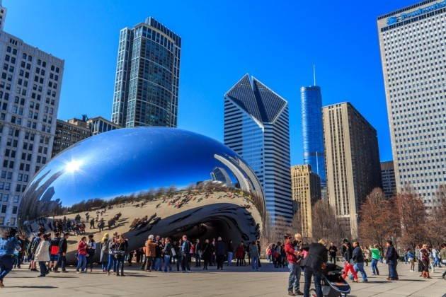 День в Чикаго: архитектура и панорама города