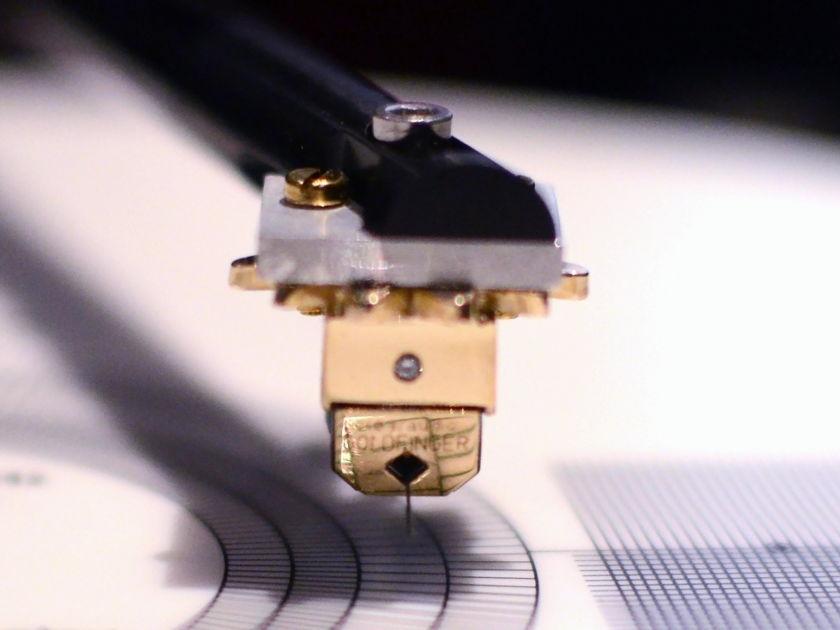 Clearaudio Goldfinger V2 cartridge
