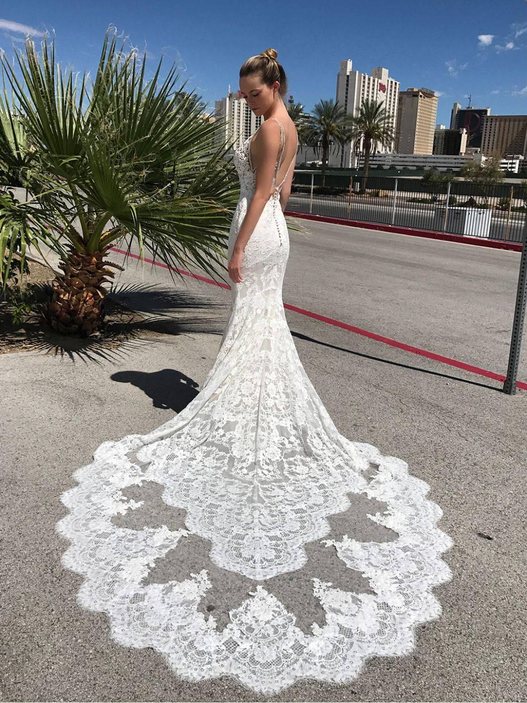 ENZOANI masha WEDDING DRESS