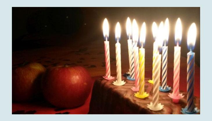ponyhof sonnenschein äpfel und geburtstags kuchen