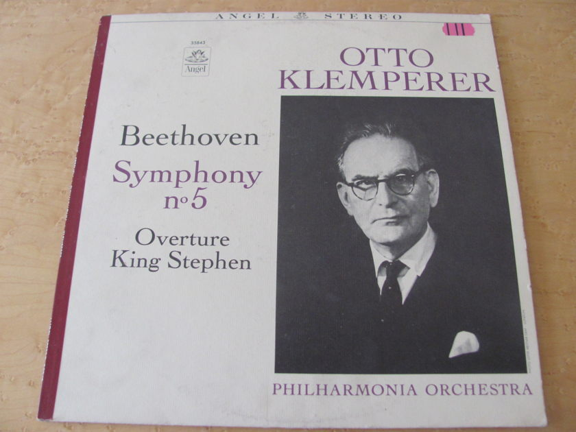 Beethoven: Symphony No. 5,  - Angel Records, Otto Klemperer,  Philharmonia Orchestra, NM