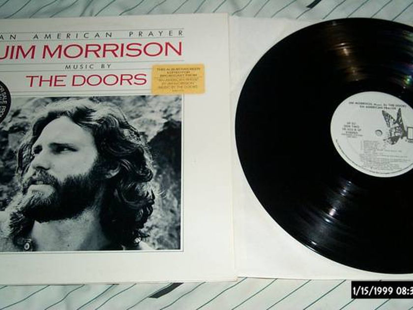 Jim Morrison - An American Prayer radio staion edited version nm