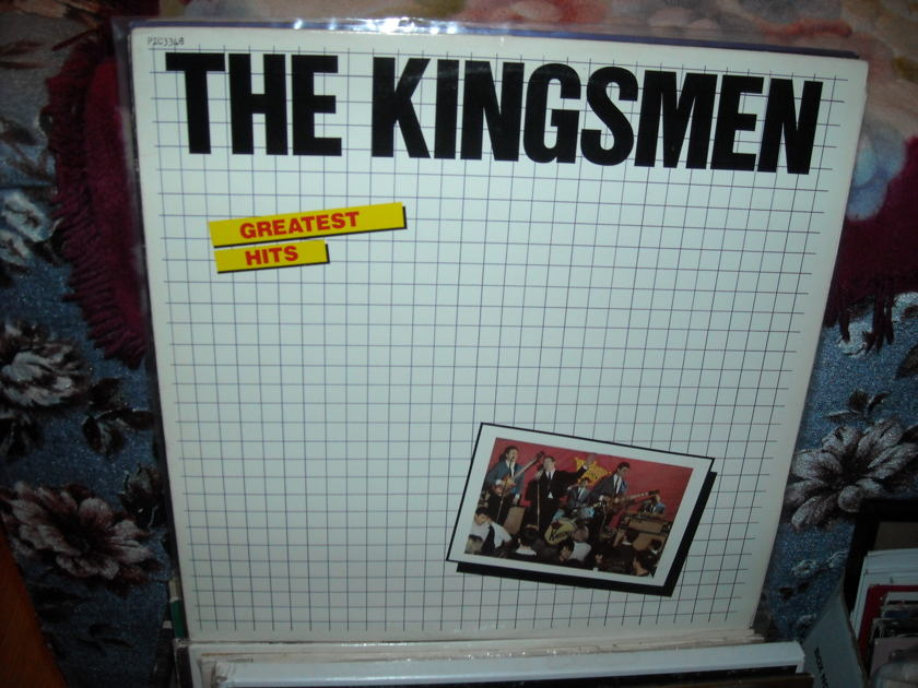 The Kingsmen - Greatest Hits Picc-a-Dilly  LP (c)