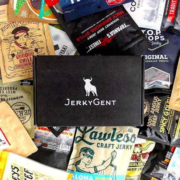 JerkyGent Jerky Of The Month Club Beef Jerky Subscription Box