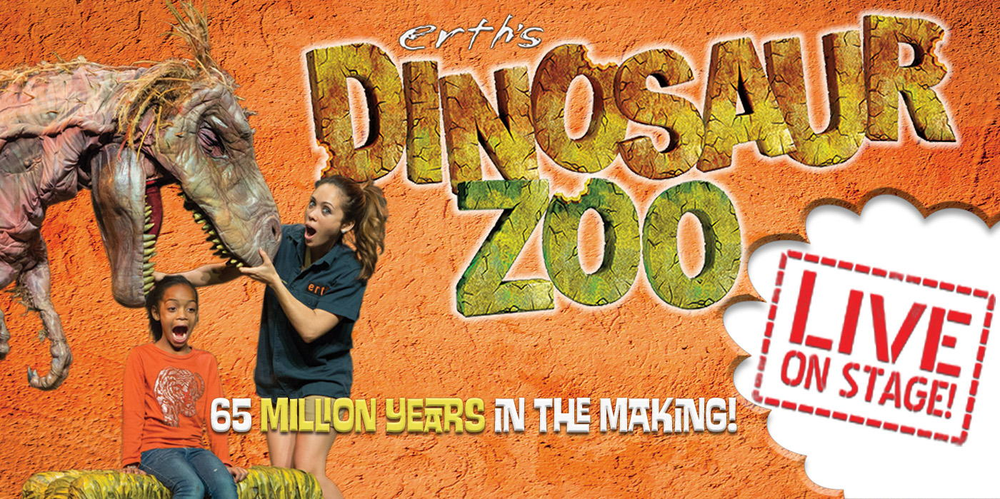 Erth's Dinosaur Zoo Live! at the Shubert Theatre