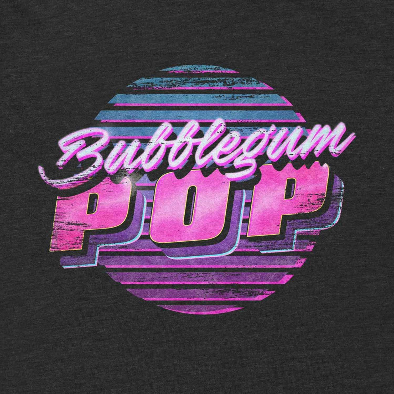Bubblegum Pop Retro Inspired Unisex Graphic T Shirt