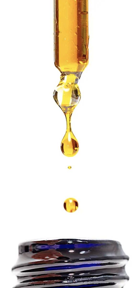 hempcautix oil driping down