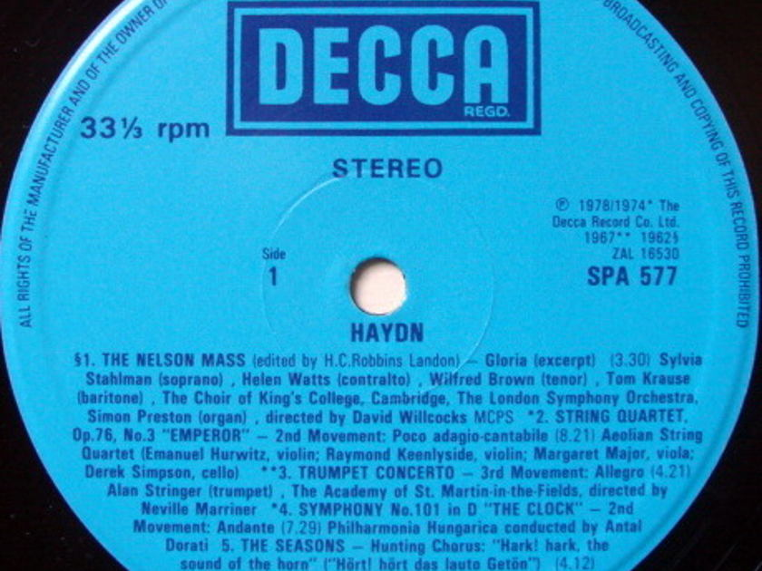 DECCA UK / DORATI, - The World of Haydn, MINT!