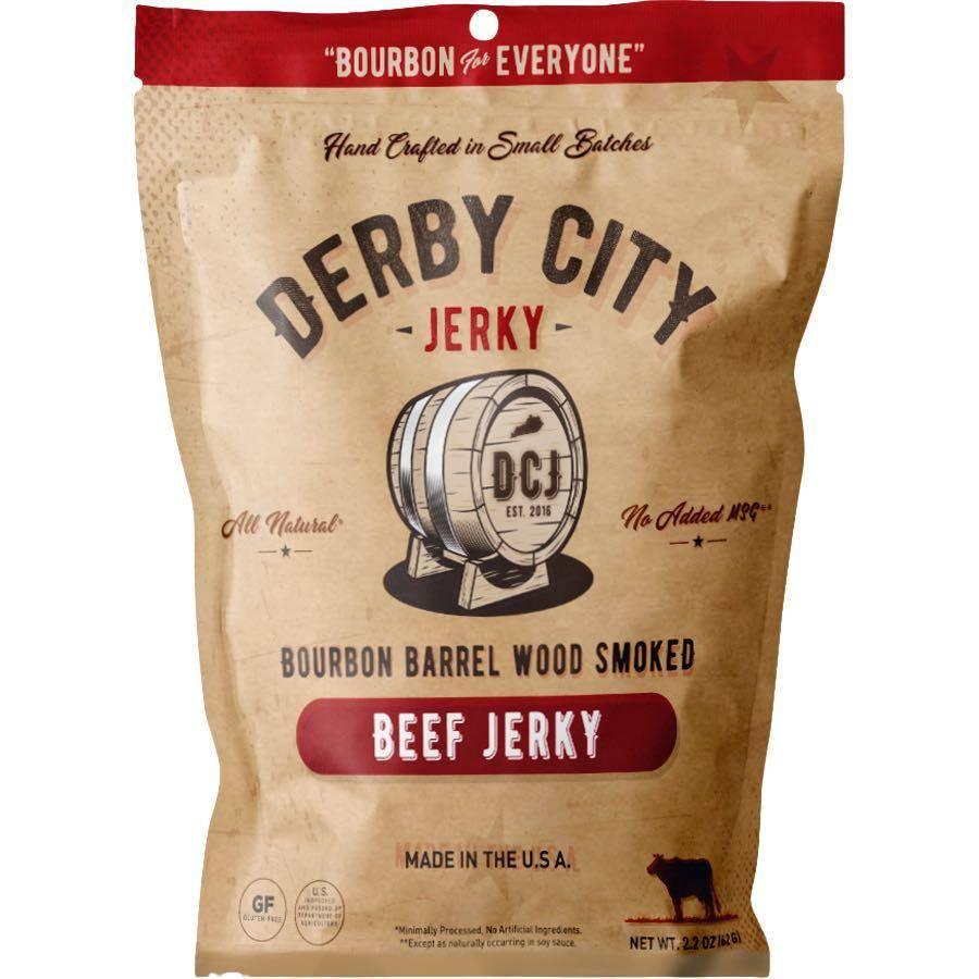 Derby City Bourbon Barrel Wood Smoked Beef Jerky Low Fat
