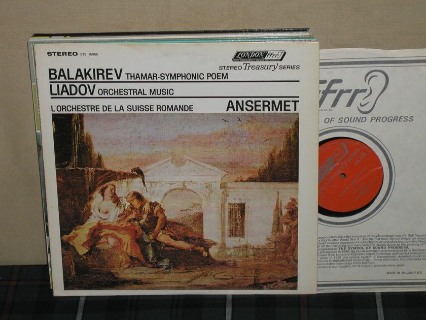 Ansermet/L'OdlSR - Balakirev/Liadov London STS UK/Decca