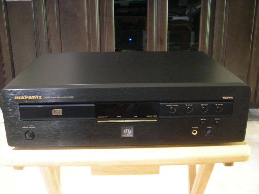 Marantz SA8001 CD/SACD player SA8001