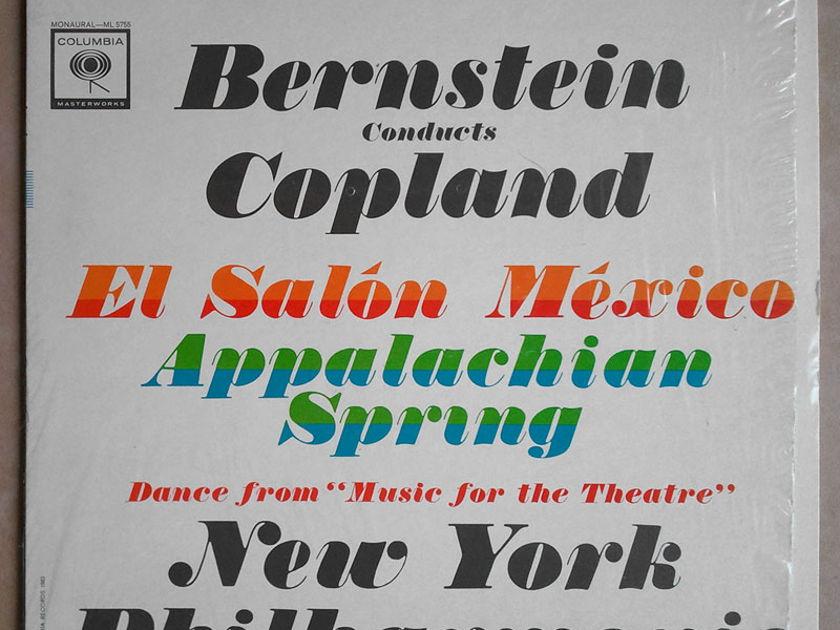 COLUMBIA 2-EYE | BERNSTEIN/COPLAND - El Salon Mexico, Appalachian Spring / NM