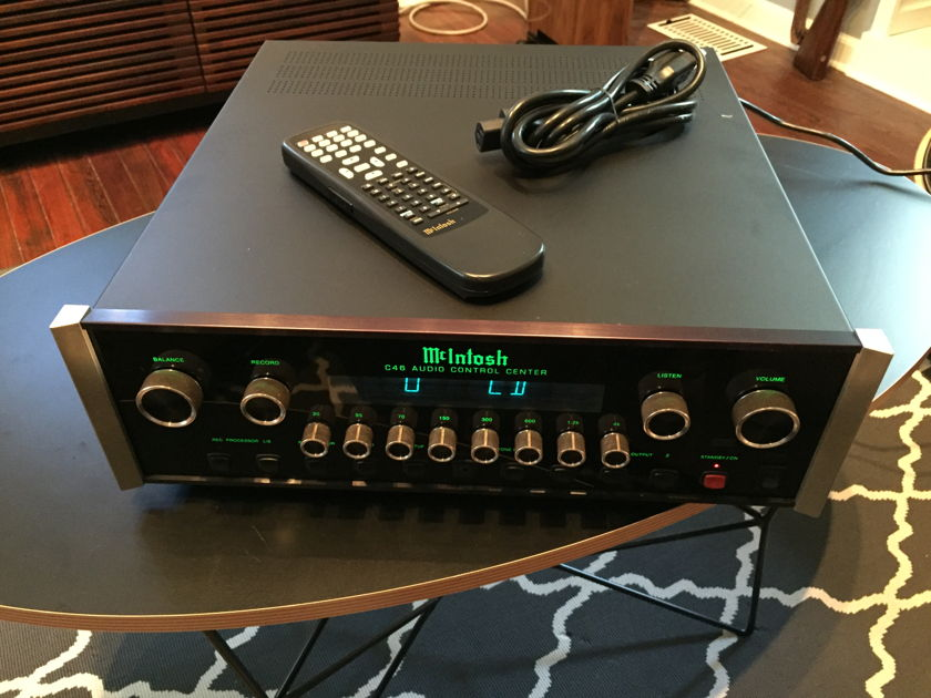 McIntosh C-46 Solid State Pre Amp