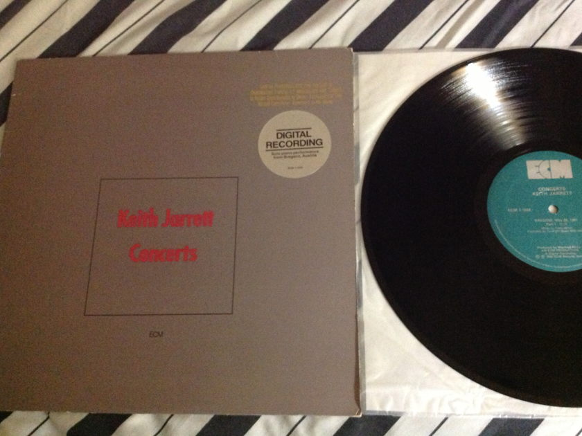 Keith Jarrett - Concerts ECM Label NM Promo Quiex II Colored Vinyl