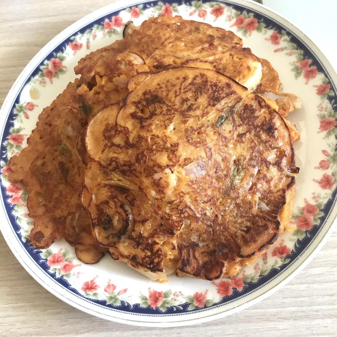 Kimchi jeon/pancakes 🤗👍🏻