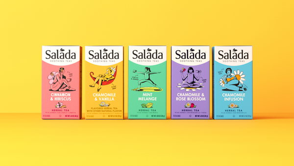Bringing a smile to the everyday with Salada Tea
