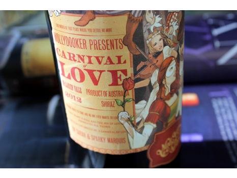 Mollydooker Carnival of Love Shiraz 2013 – WS 93