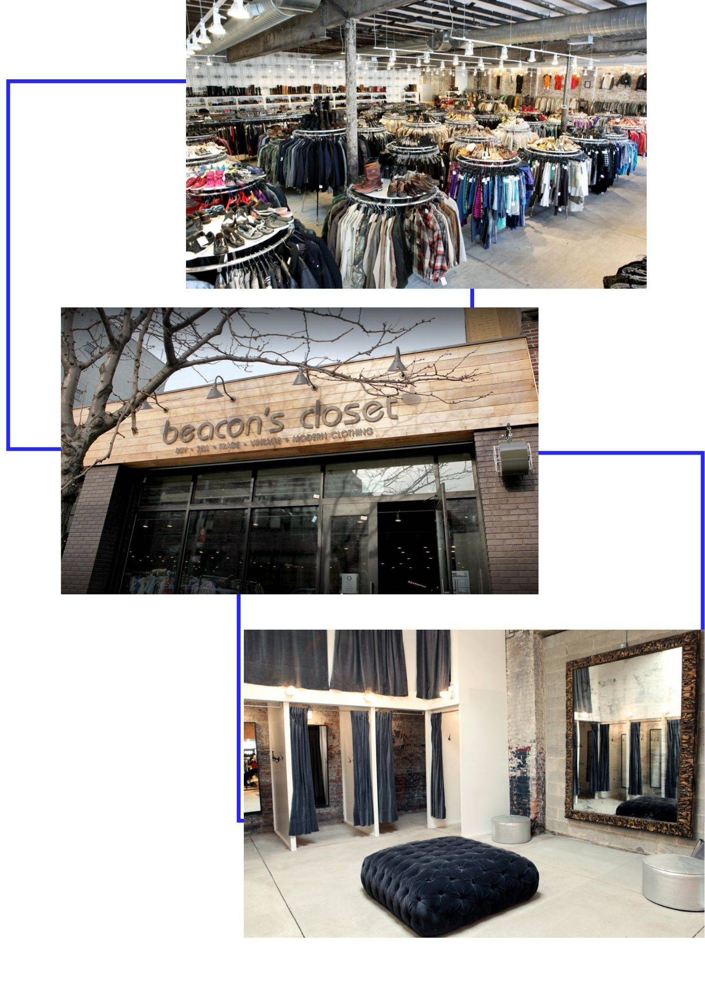 beacon's closet friperie new york