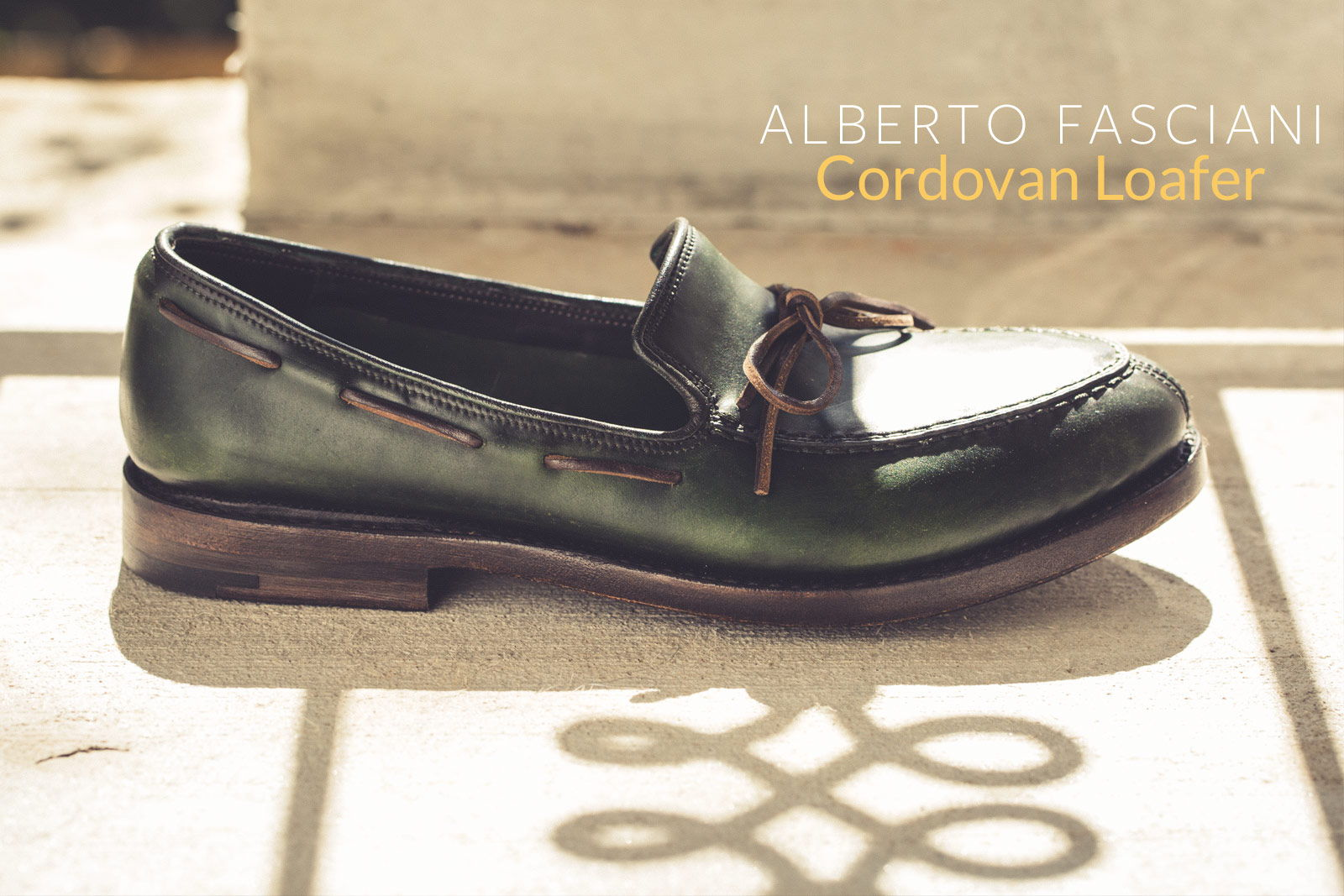 Cordovan Loafer