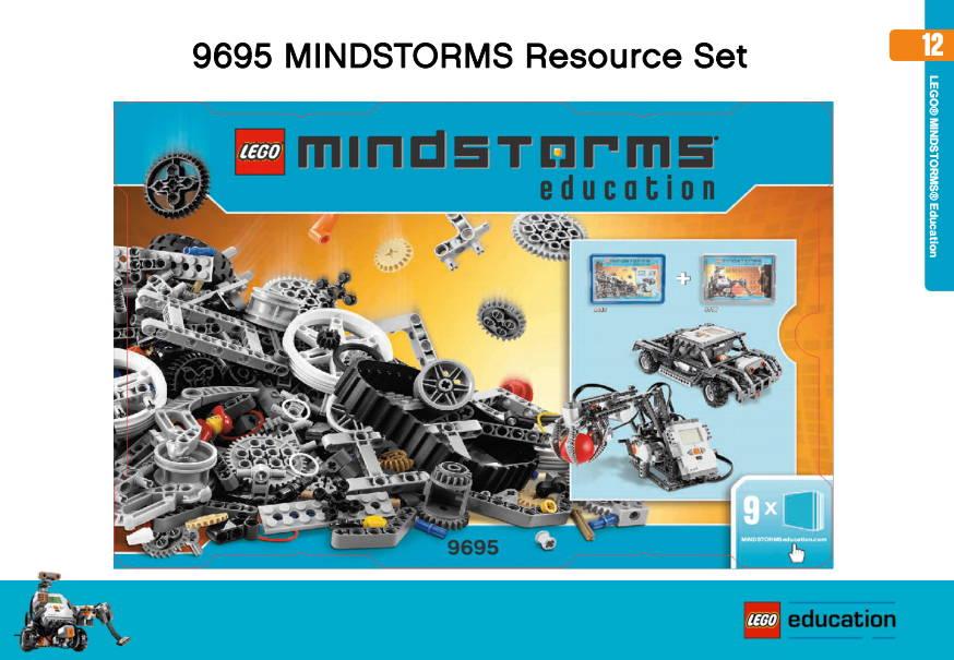 lego robotics 9695